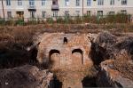 Раскопки и консервация фундамента Воскресенского собора