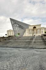 Архитектор «разрезал» здание военного музея в Дрездене