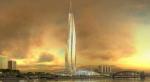 План строительства небоскреба разделил горизонтальный город