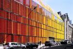 Буйство цвета в центре Парижа