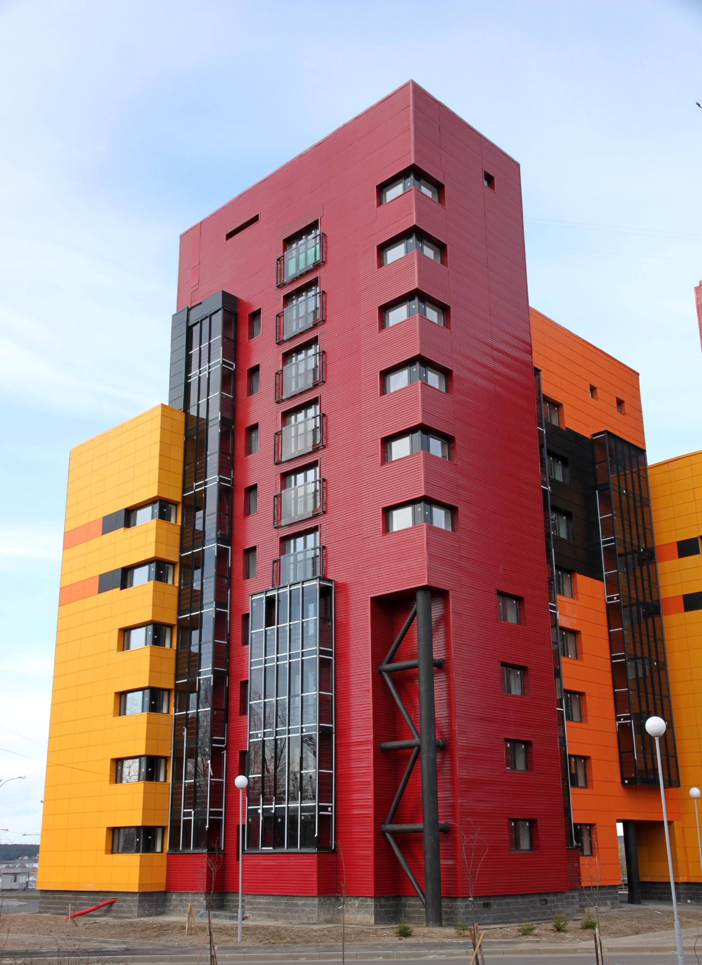Красивые фасады многоэтажных домов фото материалы скачаны