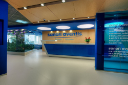 Office premises of Sanofi-Aventis Company