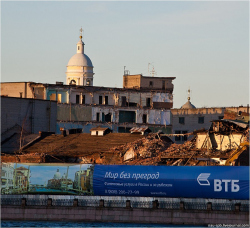 Историческая застройка государством не охраняется? В Санкт-Петербурге начался снос зданий ГИПХа (государственного института прикладной химии).