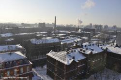 Промышленную зону вдоль Карповки хотят превратить в современный жилой район, но предприятия не спешат уезжать