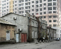 Дома братьев Мнацаканянов на ул.Кохбаци. Фото: А.В.Иванов
