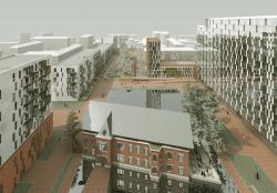 Предпроектное предложение жилого комплекса на территории бывшего Московского картонажно-полиграфического комбината