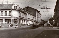 Исчезнувшая Москва. Октябрьская улица