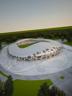 Стадион для лучших футболистов Беларуси