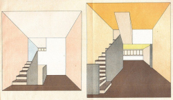 Кожа архитектурного тела, или Цвета Bauhaus в доме Наркомфина