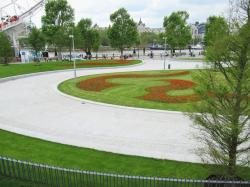 Джубили Гарденс – реконструкция парка