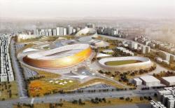 Национальный стадион и Спортивная деревня в Аддис-Абебе
