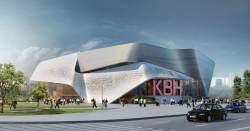 "Reconstruction of the facades for Moscow's youth center ""Planeta KVN"""