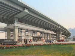 Вокзальный комплекс в пос. Хоста