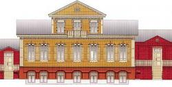 Дом с мезонином – 2: Строительство возле Дома офицеров продолжается