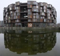 Студенческое общежитие Tietgenkollegiet в Копенгагене. 2005-2006. Фото Wikimedia Commons