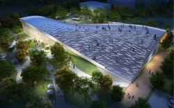 Посетительский центр Парка зеленых инноваций в Пекине