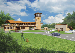 """Architectural and planning concept of landscaping the territory of eco settlement """"Poluostrov"""""""