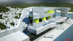 Терминал и административно-офисный комплекс порта Цзилуна