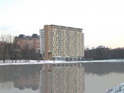 Конкурсный проект многоэтажного жилого дома на Большой Остроумовской