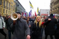 """Революция в Петербурге: массовые протесты против губернатора города и небоскреба """"Газпром-Сити"""""""