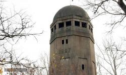 """Водонапорная башня треста """"Водосвет"""" в Щёлкове, 1927 год"""