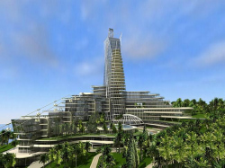 Hotel 5* and the elite residential estate with infrastructure facilities in Sochi