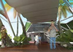 Проект переоборудования кафе в магазин солнцезащитных устройств