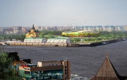 Стадион на 45000 мест для проведения Чемпионата мира по футболу 2018 года в Нижнем Новгороде