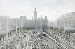 Реконструкция площади Джордж-сквер