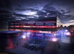 Стадион Чемпионата мира по футболу 2018 в Калининграде