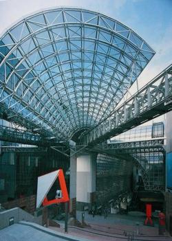 Эволюция вокзалов. Вокзал в Киото