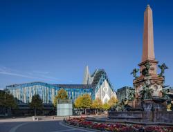 «Паулинум» – главное здание и аудитория Лейпцигского университета