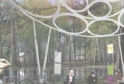 Городской парк Выксы украсит «балансирующий павильон» испанского архитектора