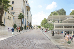 Новый кампус Академии искусств «Бецалель»