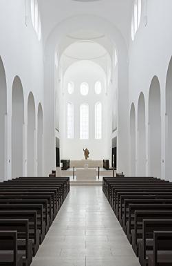 Церковь Санкт-Мориц – реконструкция