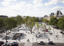 Площадь Плас-де-ла-Републик – реконструкция
