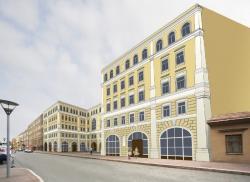 Проект нового здания интерната балетного училища имени А. Я. Вагановой в Петербурге