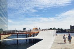 Набережная Кальвебод Брюгге – реконструкция
