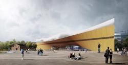 Проект Центральной библиотеки. © Arkkitehtitoimisto ALA Oy