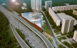 Многофункциональный комплекс «Славянка». Проект ABD architects