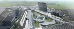 "Contest project of ""Yuzhny""Airport in Rostov Region"