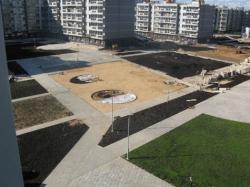 Жилой комплекс на могиле К.Малевича. Фотография: mk.ru