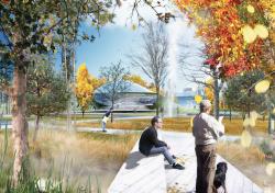 Парк «Зарядье». Проект консорциума Diller & Scofidio + Renfro, победивший в конкурсе 2013 года