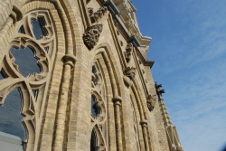 Собор Сент-Майкл – реставрация западного фасада и колокольни