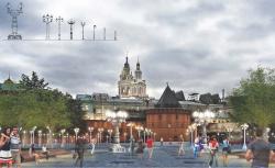 Концепция реорганизации Площади Революции в Москве