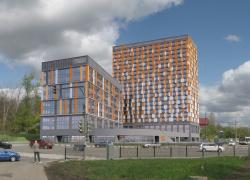 Многофункциональный комплекс с апарт-отелем YE`S
