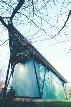 Павильон Terrace Theatre в Бристольском зоопарке