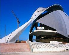 В Испании открыт один из самых больших в мире Дворцов искусств