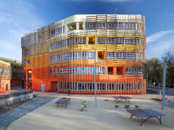 Корпуса факультета права и администрации Венского экономического университета