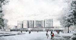 Музейно-выставочный комплекс ГЦСИ. Конкурсный проект Nieto Sobejano Arquitectos